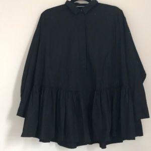 Zara drop waist tunic